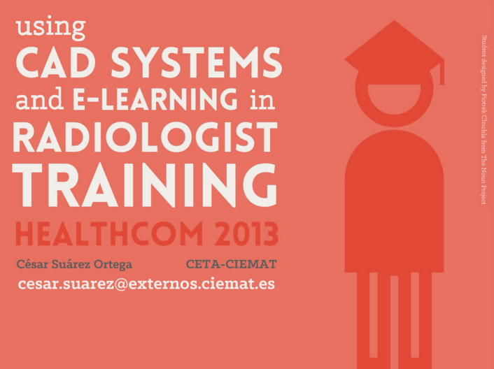 Using CAD Systems and E-Learning in radiologist training
