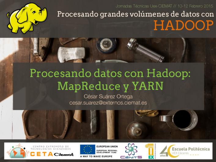 Procesando datos con Hadoop: MapReduce y YARN