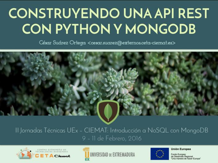 MongoDB en la práctica: PyMongo + Flask + AngularJS